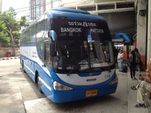 The Bangkok Pattaya Bus