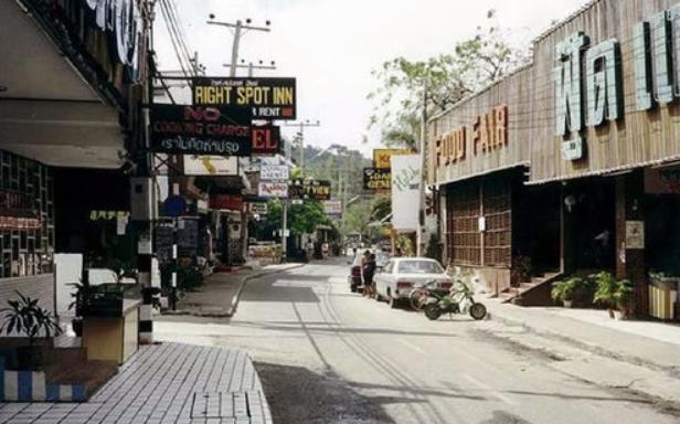 Walking Street - Looks like Soi 16 on the left