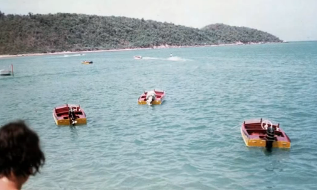 Speedboats have been around in Pattaya Bay for decades!