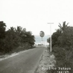 The road leading to the beach in North Pattaya