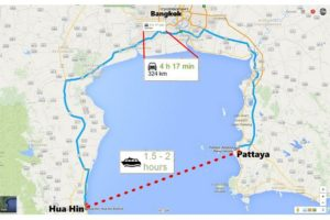 Pattaya to Hua Hin Ferry to start service in the new year