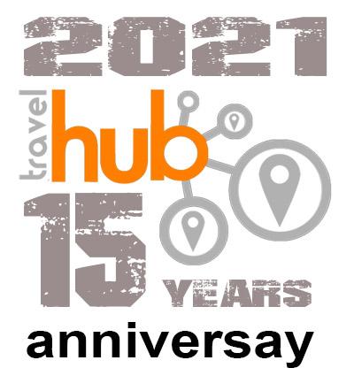 Travel Hun anniversary banner